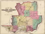 Map of Solano County, CA, 1877