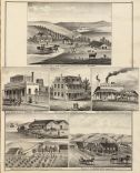 Residences, farms, businesses in Solano County, CA. 1878