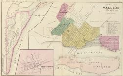 Map number eight - Vallejo 1878