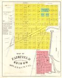 Map of Fairfield and Suisun California