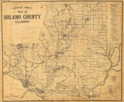 Map of Solano County - Thomas Bros